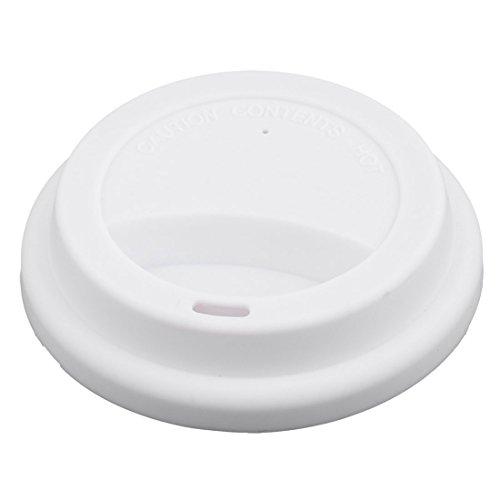sourcingmap Familie Silikon Rund Form wiederverwendbar Siegel Mug Deckel Tee Kaffee Deckel