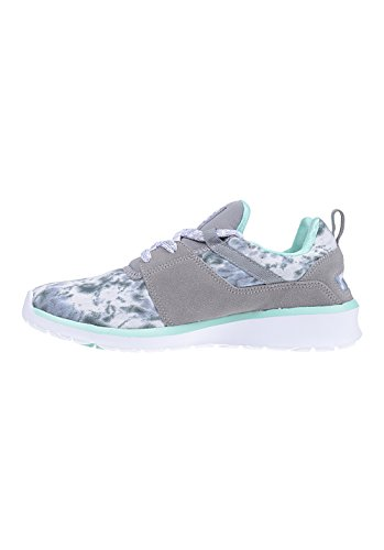 DC Shoes HEATHROW SE J, Low-Top Sneaker donna grey feather camo