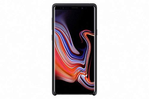 Samsung Silikon Hülle 'EF-PN960' für Galaxy Note9, Schwarz Silicon Case Screen Guard