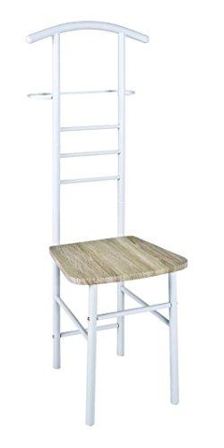 AVANTI TRENDSTORE - Step - Herrendiener, in verschiedenen Farben verfügbar, BHT ca. 50x119x46 cm (Weiß)
