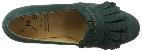 KMB Damen Cave Pumps Grün (Dark Green)