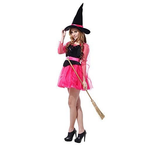 Halloween Adult Mesh Hexenkostüm Halloween Ballspiel Süße Hexe Hübsche Hexe (Böse Hexe Des Westens Sexy Kostüm)