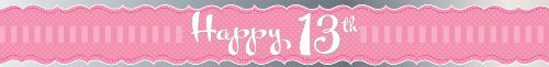 Perfectly Pink Party - Happy 13th Birthday Sash by Perfectly Pink