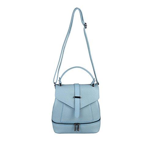 OBC Only-Beautiful-Couture, Borsa a zainetto donna blu Hellblau ca.: 22x23x12 cm (BxHxT) Hellblau