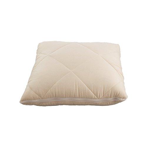 JML quishion 2-in-1-gemütlich Warm Luxuriöse Qualität Bequem Kombination Quilt/Decke & Kissen/Kissen beige
