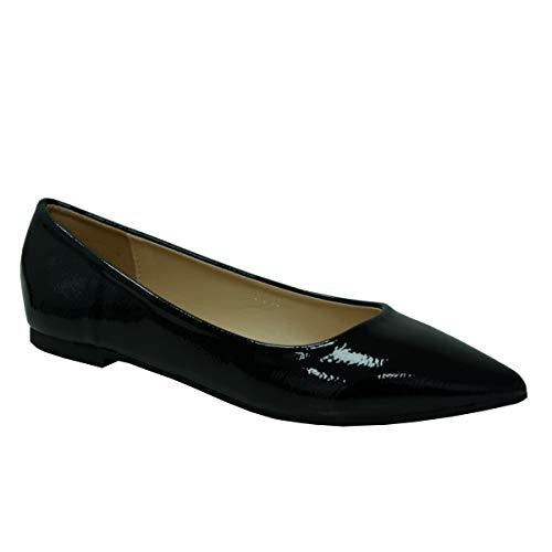 save off d3e1a bde57 ✓ Lackschuhe Flach Damen Vergleich - Schuhe für Jede ...