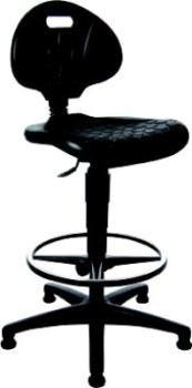 Preisvergleich Produktbild Arbeitsstuhl TEC 20 Counter PU schwarz