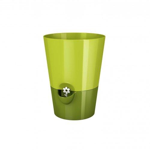 Emsa FRESH HERBS Pot à herbes fraîches, avec système d'irrigation, Ø 13 cm, vert