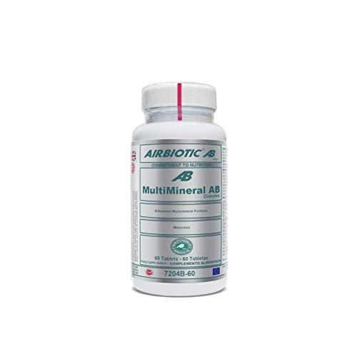 Airbiotic - MULTIMINERAL AB COMPLEX 60 Tabletten - Advanced Multimineral Formula - Tabletten Advanced Formula