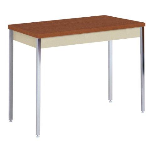 edsal Sandusky at4020-pu Pulverbeschichtung Aktivität/Utility Tisch mit Eiche Top, 737mm Höhe x 1016mm Breite x 508mm Tiefe, Putty (Hohe Eiche Tisch)