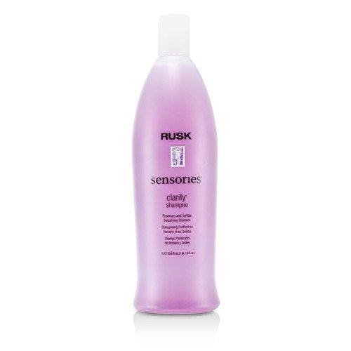 Rusk Sensories Clarify Rosemary and Quillaja Detoxifying Shampoo - 1000ml/33.8oz by Rusk