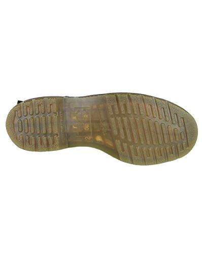 Dr. Martens Men's B8250 Slip On Dealer Leather Upper Boots Elastic secure fit Nero