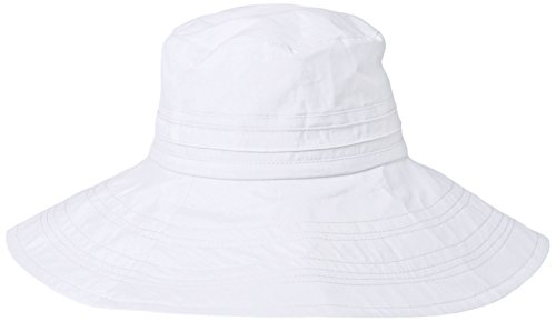 gottex-womens-seychelle-cotton-packable-sun-hat-rated-white-one-size