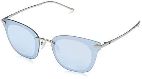 Ray-Ban Damen 0EA2075 Sonnenbrille, Grau (Silver), 60
