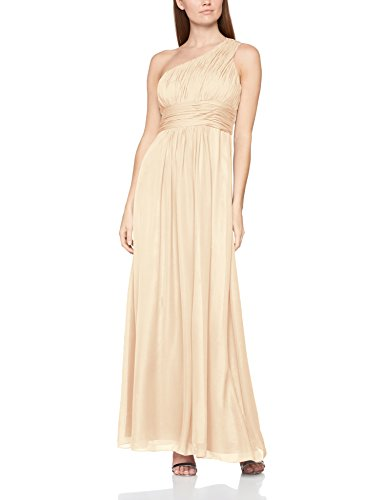 Astrapahl Damen Kleid br07016ap, Beige (Aprikot Beige), 40