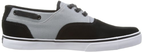 C1RCA VALEO CVALEO Unisex-Erwachsene Sneaker Schwarz (Black/Gray)