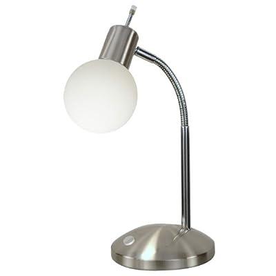 Tischleuchte Tischlampe Leselampe Lampe Energiesparlampe Kugel Floral von etc-shop auf Lampenhans.de