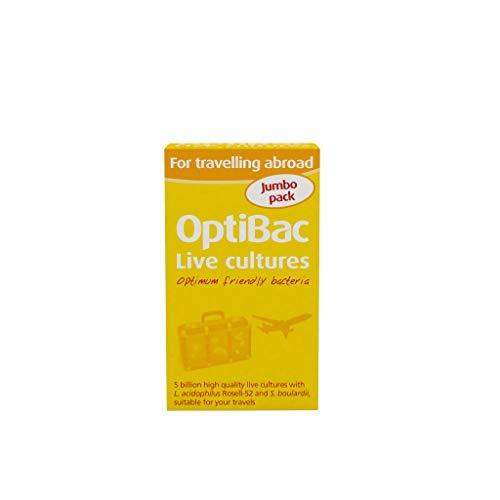 OptiBac Für Reisen ins Ausland - 5 Milliarden KBE Mehrstämmiges - 60 Kapseln -