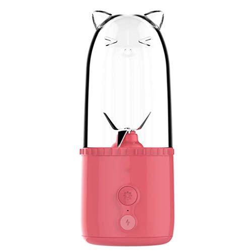 Aijolen Juice Cup Mini tragbare elektrische Mixing Cup USB Lade Entsafter,A - Entsafter Handliche
