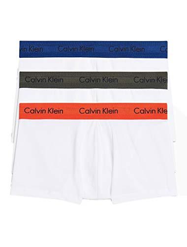 Calvin Klein Men's Cotton Stretch Multipack Low Rise Trunks