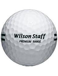 Wilson Range Ball White 24Docena de para hombre -