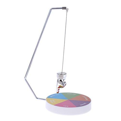Sharplace Juguete de Diversión de Oficina Ejecutiva Decisión Fabricante Péndulo Magnético Adornos de Mesa Escriotorio - A