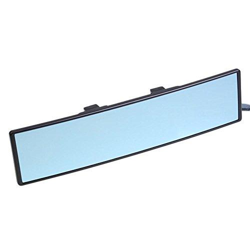 Preisvergleich Produktbild Auto Rückspiegel 290 mm breit Titan Curve large-view Blendfreie blau Spiegel universal