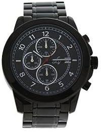 Reloj hombre Louis Villiers acero negro 47 mm lv1015