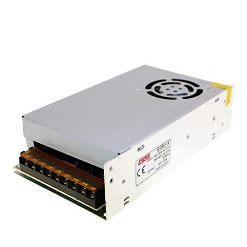 HAILI AC110V / 220V au transformateur d'alimentation d'énergie de Mode de Commutation de DC12V 20A 240W construit dans Le Ventilateur pour Les Bandes menées
