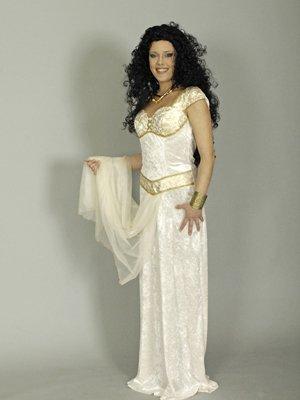 Kostüm -Daphne- 36-38 Göttin (Für Halloween-kostüm Erwachsene Daphne)