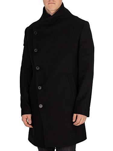 Religion Herren Mantel NOIREX Coat, Schwarz (Black), X-Large