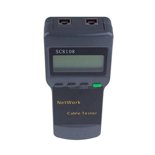 LemonBest® RJ45 Netzwerkkabel-Tester, Meter,LAN-Kabel, Telefon (Design Rj11-kompaktes)