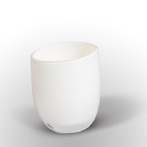 Tatkraft Le Force 4742943012219 Gobelet à Dents Acrylique, blanc, 7.9 x 7.2 x 9 cm