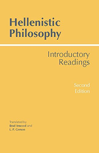 Hellenistic Philosophy: Introductory Readings (Hackett Classics) por Brad Inwood