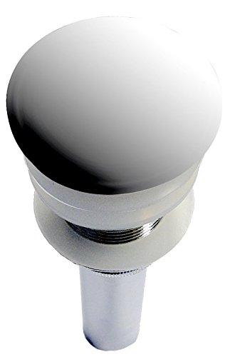 Ablaufgarnitur mit Pop-Up-Funktion für Waschbecken ohne Überlauf