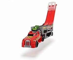 Dickie Toys 203747003Race and Store Transporter Auto Transporter con Espacio para vehículos 28