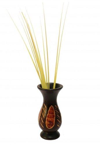 hundeinfo24.de Mangoholz – Vase LISA, Blumenvase