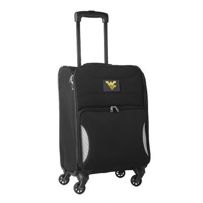 ncaa-west-virginia-mountaineers-lightweight-nimble-upright-carry-on-trolley-18-inch-black-by-ncaa