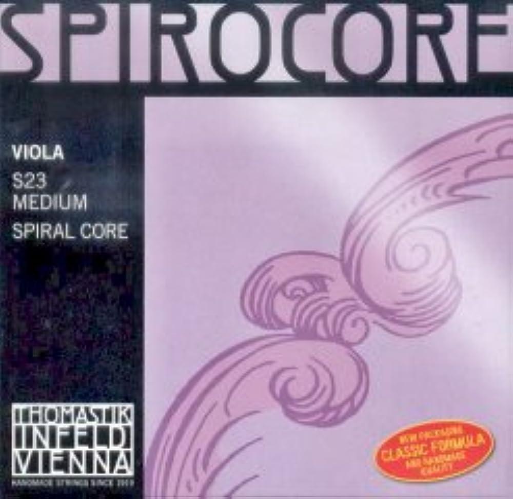 CUERDAS VIOLA - Thomastik (Spirocore/S23) (Juego completo) Medium Viola 4/4