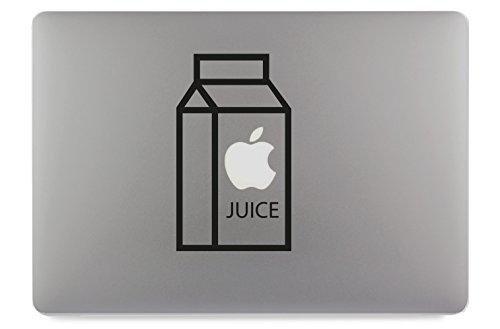 Apple Juice Saft Karton Apfelsaft Apple MacBook Air Pro Aufkleber Skin Decal Sticker Vinyl (13