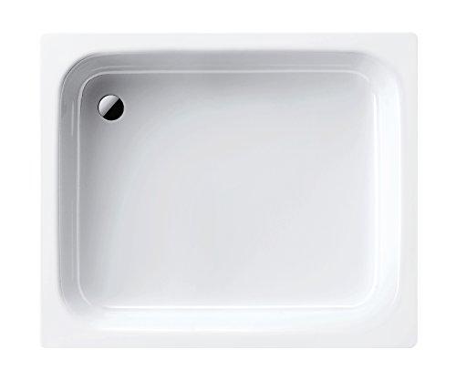 Kaldewei Stahl-Duschwanne Sanidusch | 548-1 | Duschwanne | Brausewanne | 80 x 75 x 14 cm | Weiß