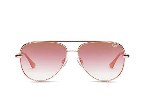 QUAY AUSTRALIA Women's High Key Mini QUAY X DESI Rose/Copper Fade One Size