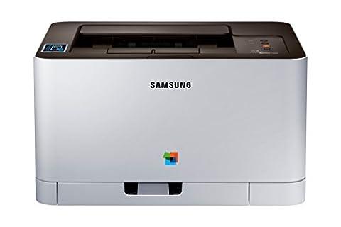 Samsung Xpress SL-C430W/TEG Farblaser-Drucker (mit Mobile-Print via NFC)