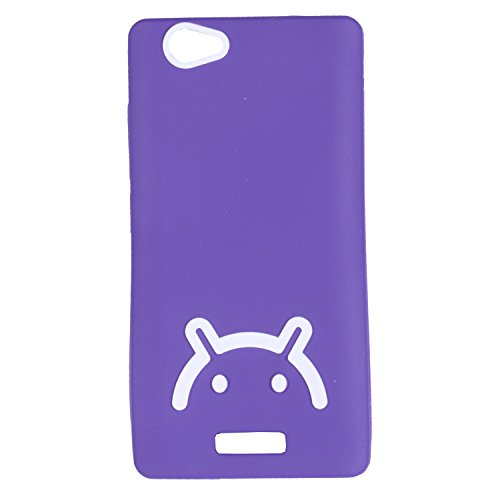 iCandy™ Soft TPU Back Cover For Gionee Marathon M2 - Purple  available at amazon for Rs.160