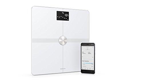 Nokia Body+ - Báscula wifi de composición corporal, blanco