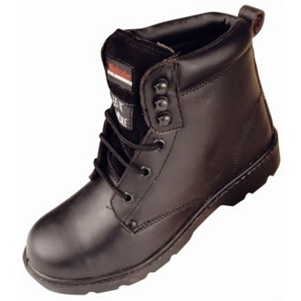 Slipbuster Six Eyelet Safety Boot by Slipbuster Footwear (Eyelet Boot Safety)