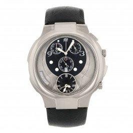 Philip Stein Chrono 9-crb3-cb acciaio inossidabile quarzo orologio da uomo