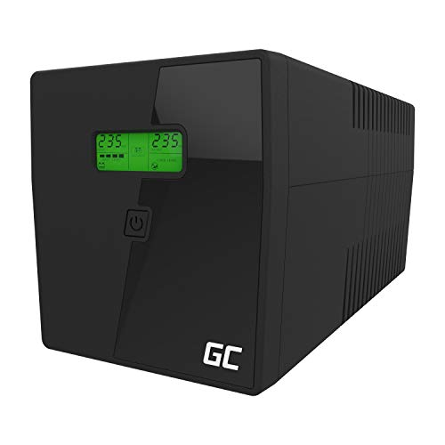 Green Cell® UPS USV Onduleur 1000VA (600W) 230V Alimentation d'énergie Non interruptible...