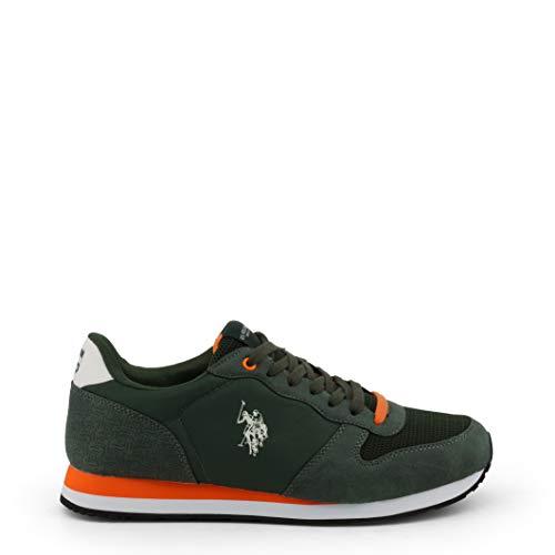 U.S. Polo - WILYS4087S9_HN1 Men's Sneakers Green / 45 (Us Polo Damen Sneaker)
