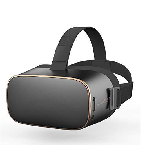 PXYUAN VR Headset mit Fernbedienung, augengeschütztes HD Virtual Reality Headset, kompatibel für iPhone XR Xs X 8 7 6 S sowie Samsung Galaxy S9 S7 S6 Edge + etc-Black